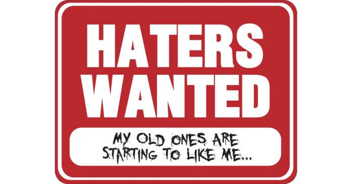 Haters: scopri chi sono gli odiatori seriali del web.