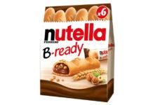 Nutella B-ready: poche calorie, ma anche tanti grassi e zuccheri.
